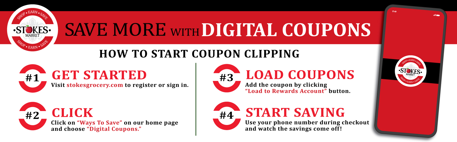 Stokes Digital Coupons