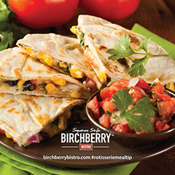 Birchberry Bistro Chicken Quesadillas