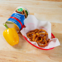Oven-Baked Pepper Rings