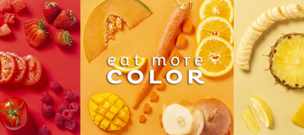 eat more color red orange yellow