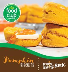 Food Club® Pumpkin Biscuits