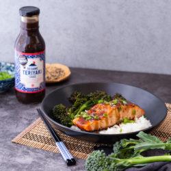 Culinary Tours® Teriyaki Salmon and Rice