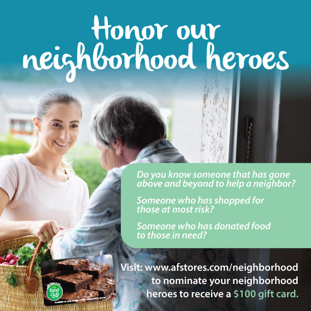 Honor our Neighborhood Heroes