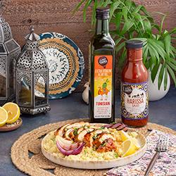 Culinary Tours Grilled Harissa Chicken Glaze