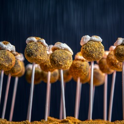 S'mores Truffle Pops