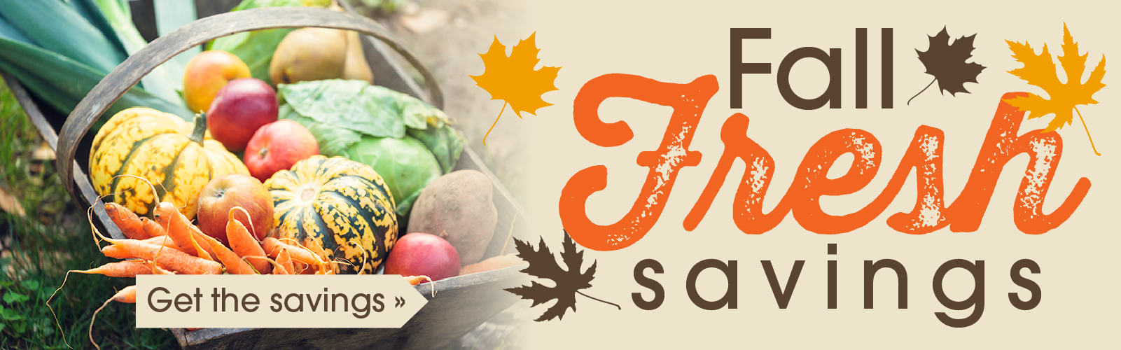Fall Fresh into Savings