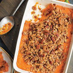 Brown Sugar-Pecan Sweet Potato Casserole