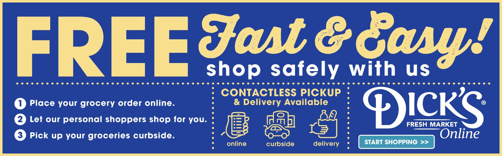 Free, Fast, & Easy!