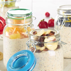 Full Circle Overnight Oats & Fruit