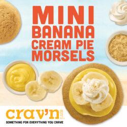 Mini Banana Cream Pie Morsels