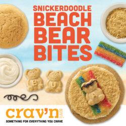 Snickerdoodle Beach Bear Bites