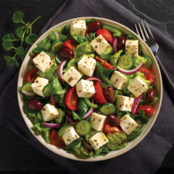 Feta Topped Greek Salad